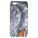 Caja azul de la mota del iPhone 4 del Hydrangea