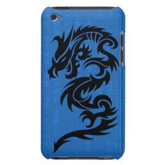 Caja azul de la mota del tacto de iPod del dragón iPod Touch Protector