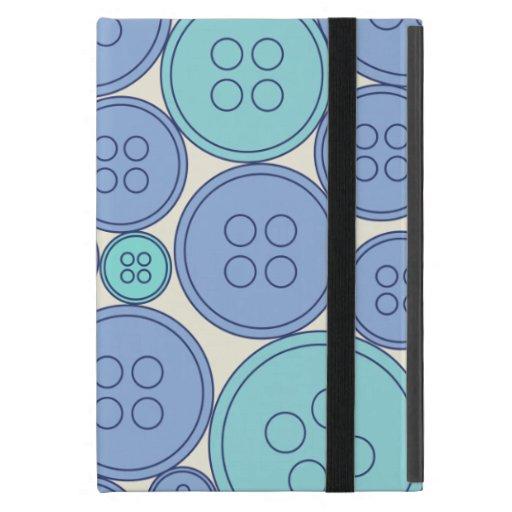 caja azul de los botones iPad mini carcasa