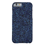 caja azul de medianoche del iPhone 6 del brillo