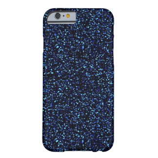 caja azul de medianoche del iPhone 6 del brillo Funda De iPhone 6 Slim
