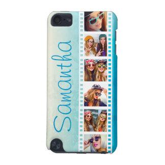 Caja azul de moda femenina del tacto del verano 5G Funda Para iPod Touch 5G