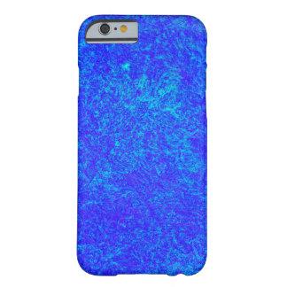 Caja azul de neón del iPhone 6 Funda Para iPhone 6 Barely There
