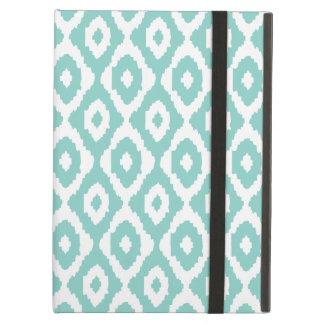 Caja azul del aire del iPad del modelo de Ikat