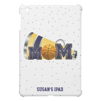 Caja azul del iPad de la mamá del baloncesto que a iPad Mini Protectores