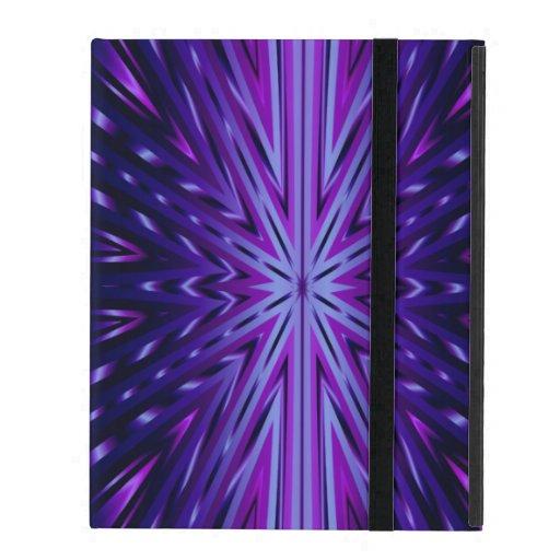 Caja azul del iPad de Starburst