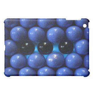 caja azul del ipad del diseño moderno de las bolas