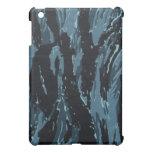 Caja azul del ipad del tigre