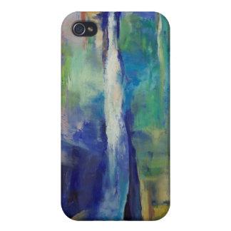 Caja azul del iPhone 4 de la cascada iPhone 4/4S Carcasa
