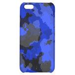Caja azul del iPhone 4 del camuflaje