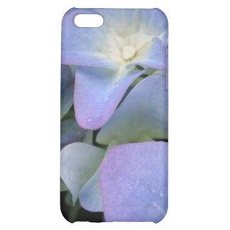 Caja azul del iPhone 4 del Hydrangea