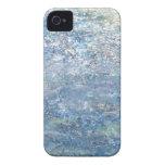 Caja azul del iPhone 4 del planeta de la toleranci iPhone 4 Cobertura