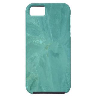 Caja azul del iPhone 5 de la ágata iPhone 5 Carcasa