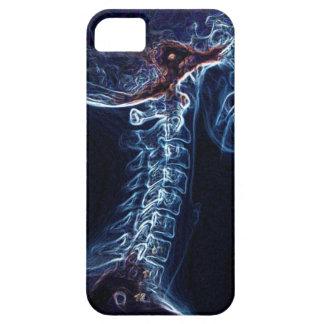 Caja azul del iPhone 5 de la C-espina dorsal iPhone 5 Carcasa