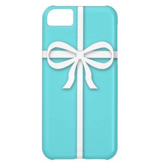 Caja azul del iPhone 5 de la caja de regalo del Carcasa Para iPhone 5C
