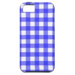 Caja azul del iPhone 5 de la guinga iPhone 5 Case-Mate Coberturas