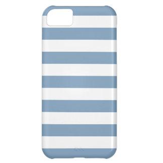 Caja azul del iPhone 5 de la oscuridad intrépida Funda Para iPhone 5C