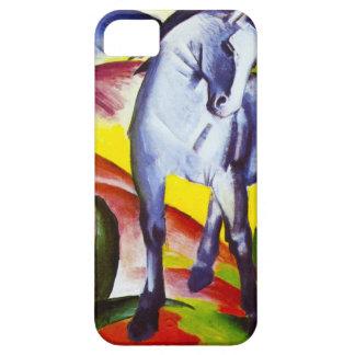 Caja azul del iPhone 5 del caballo de Franz Marc iPhone 5 Case-Mate Cárcasas
