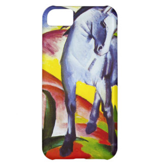 Caja azul del iPhone 5 del caballo de Franz Marc