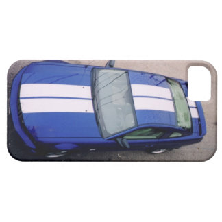 Caja azul del iPhone 5 del coche del músculo iPhone 5 Protectores