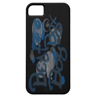 Caja azul del iPhone 5 del muchacho de la caja del iPhone 5 Case-Mate Funda