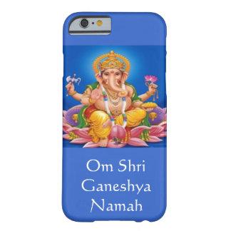 Caja azul del iPhone 6 de señor Ganesh Funda De iPhone 6 Barely There