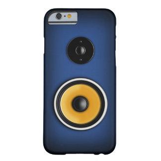 """Caja azul del iPhone 6 del """"altavoz"""" Funda De iPhone 6 Barely There"""