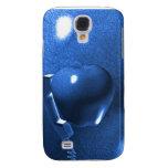 Caja azul del iphone de Apple