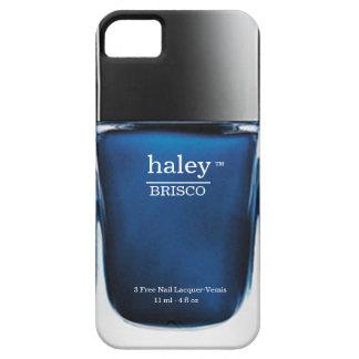 Caja azul del iPhone de la botella del esmalte de iPhone 5 Fundas