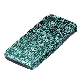 Caja azul del iPhone de la chispa iPhone 4 Cobertura