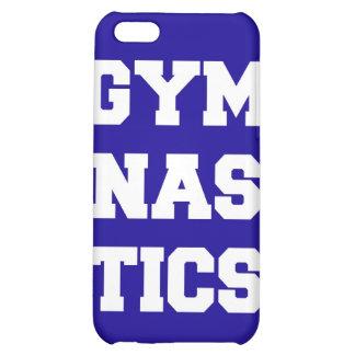 Caja azul del iPhone de la gimnasia