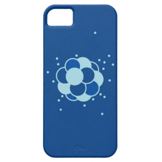 Caja azul del iPhone de la química del átomo iPhone 5 Carcasa