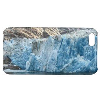 Caja azul del iPhone del glaciar del hielo