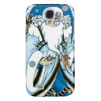 Caja azul del iPhone del navidad del padre del vin