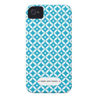 Caja azul del iPhone del tarro del atasco iPhone 4 Protector