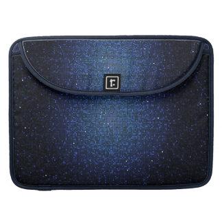 Caja azul del ordenador de la manga de MacBook de  Fundas Para Macbooks