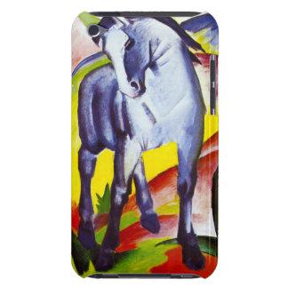 Caja azul del tacto de iPod del caballo de Franz M Case-Mate iPod Touch Carcasa