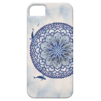 Caja azul del teléfono de la casamata de la iPhone 5 fundas