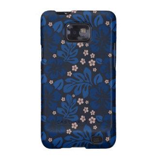 Caja azul del teléfono de la galaxia de Hawaii Sam Samsung Galaxy SII Fundas