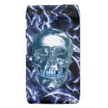 Caja azul eléctrica de Droid RAZR del cráneo del c Motorola Droid RAZR Fundas