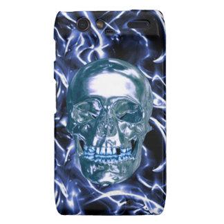 Caja azul eléctrica de Droid RAZR del cráneo del Carcasa Para Droid RAZR