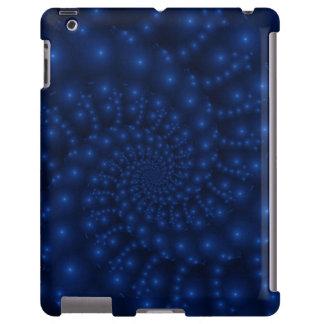 Caja azul eléctrica del iPad