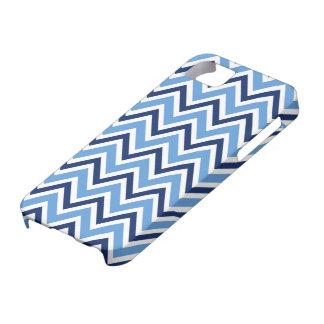 Caja azul elegante del iPhone 5 del modelo del gal iPhone 5 Coberturas