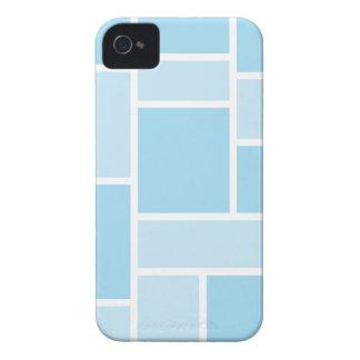 Caja azul fresca del iPhone 4/4S del vitral iPhone 4 Case-Mate Protector