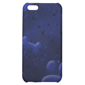 Caja azul fresca del iPhone 4 del amante del perro