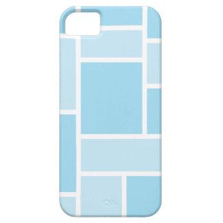 Caja azul fresca del iPhone 5 del vitral iPhone 5 Carcasa