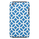 Caja azul geométrica del tacto G4 de iPod iPod Case-Mate Funda