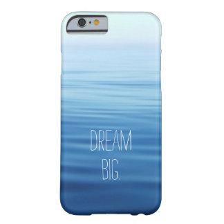 Caja azul grande ideal del iPhone del océano Funda De iPhone 6 Barely There