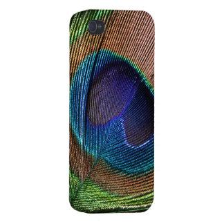 Caja azul hermosa adicional del iphone 4 de la fot iPhone 4 carcasas