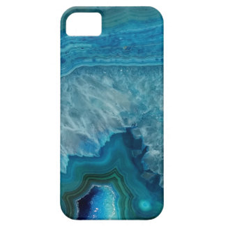 Caja azul hermosa del iPhone 5/5s de la gema iPhone 5 Fundas